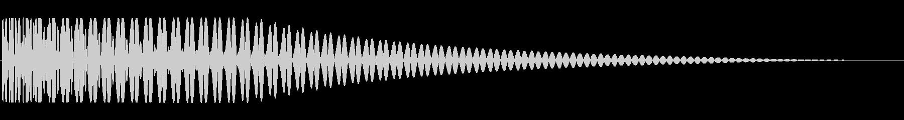 ブーン:Trapなどで聞くサブベース音の未再生の波形