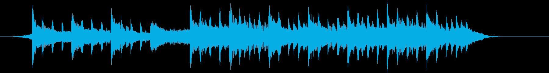 企業VPや映像になじませやすい曲② 短尺の再生済みの波形