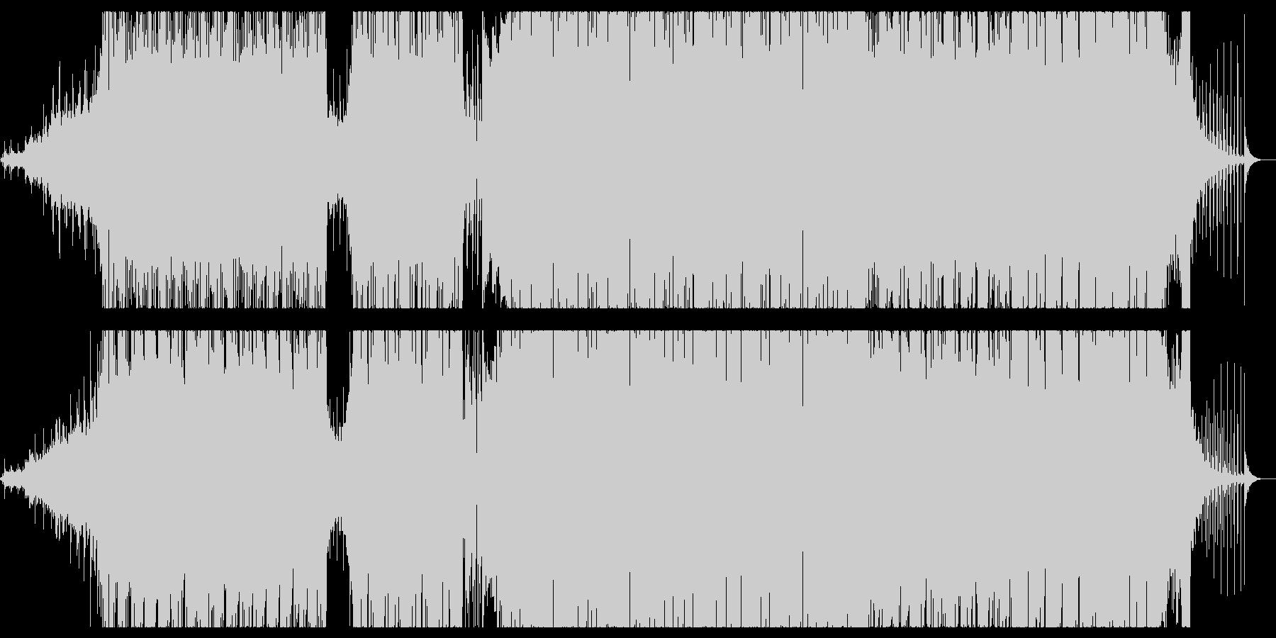 ピアノを軸にした展開多めのエレクトロニカの未再生の波形
