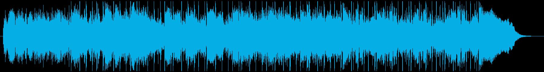 ブレイクビート 燃焼 テクノロジー...の再生済みの波形