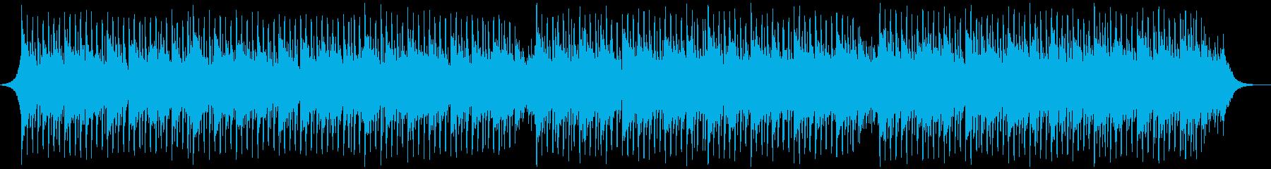 説明者の背景の再生済みの波形