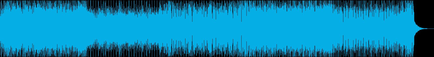 ラウンジ 都会 軽快 ハウス ジャズの再生済みの波形