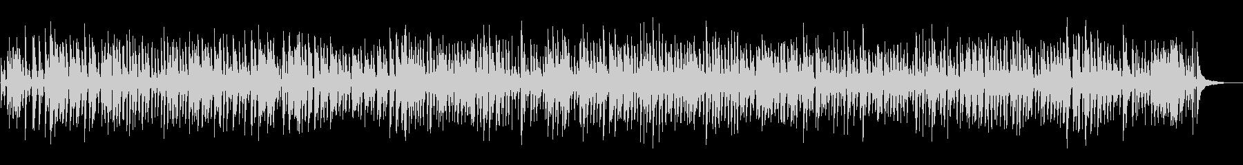 おしゃれなソフトジャズピアノトリオの未再生の波形