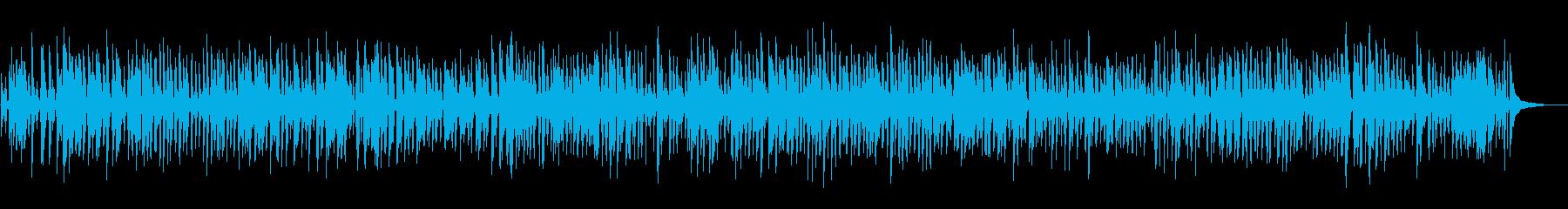 おしゃれなソフトジャズピアノトリオの再生済みの波形