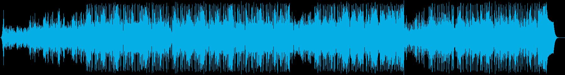 電気楽器。高騰、ポジティブなエネル...の再生済みの波形