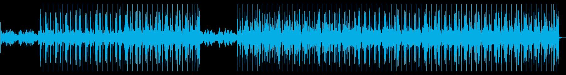 ピアノのメロディが印象的なヒップホップの再生済みの波形