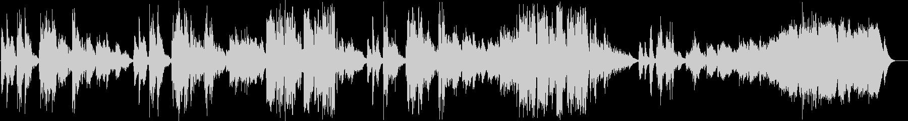 英語洋楽:凄く切ない恋愛バラード:アコギの未再生の波形