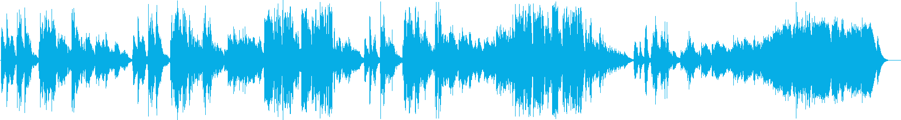 英語洋楽:凄く切ない恋愛バラード:アコギの再生済みの波形