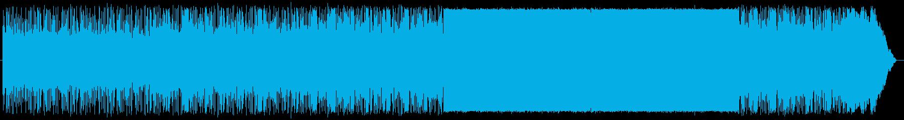 ドローンなどの空撮や海中の動画向けの再生済みの波形