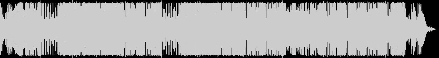 オールディーズなヒップホップビートの未再生の波形