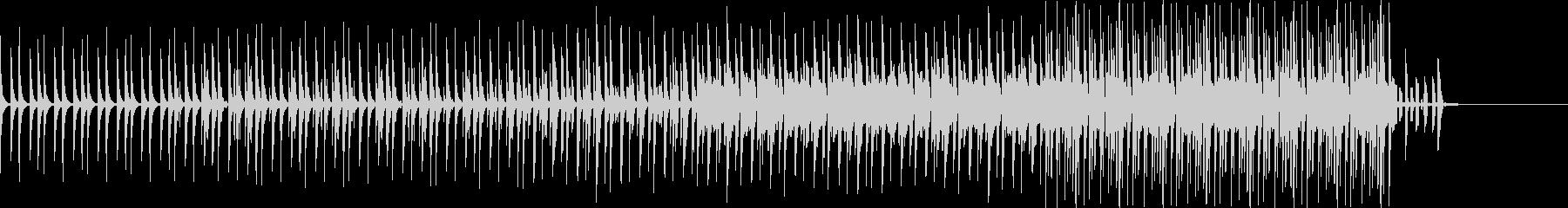ミドルテンポバージョンの未再生の波形