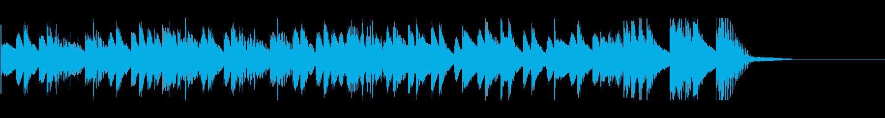 発車メロディ 8の再生済みの波形