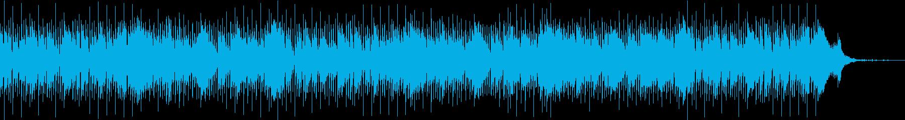ゆったりおしゃれな大人のジャズの再生済みの波形