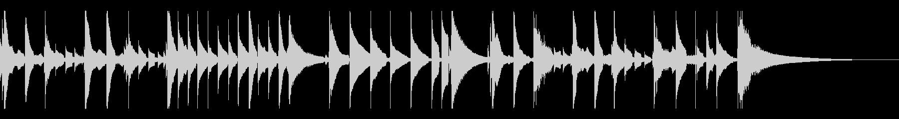 童謡「さくらさくら」をウクレレ演奏の未再生の波形