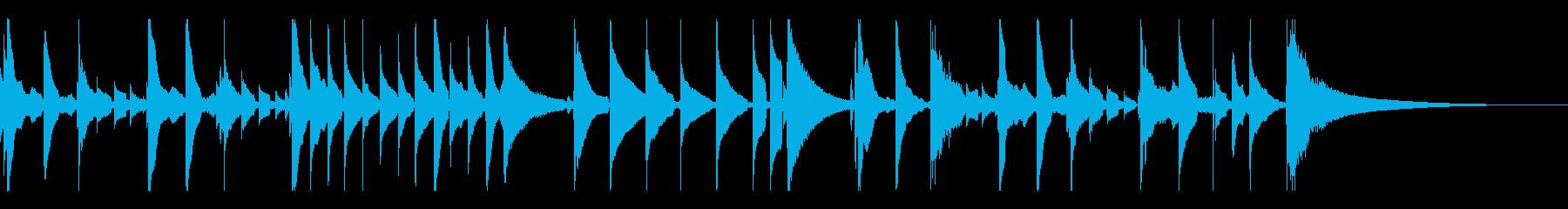 童謡「さくらさくら」をウクレレ演奏の再生済みの波形