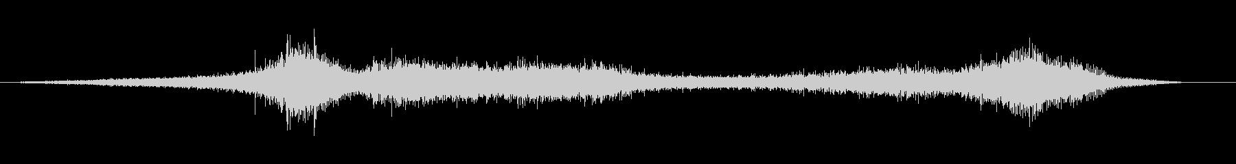 【生録音】 早朝の街 交通 環境音 17の未再生の波形
