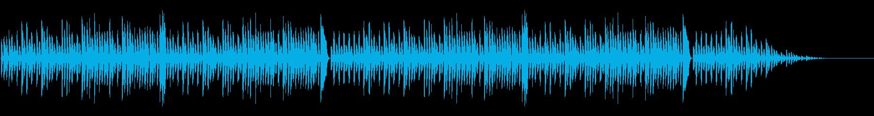 「森のくまさん」シンプルなピアノソロの再生済みの波形