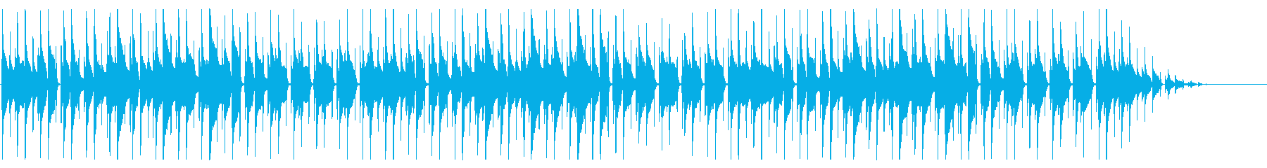 童謡「かっこう」脱力系アレンジの再生済みの波形