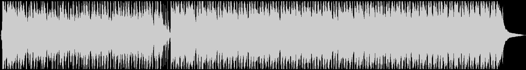 陽気なウクレレポップスの未再生の波形