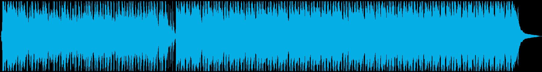 陽気なウクレレポップスの再生済みの波形