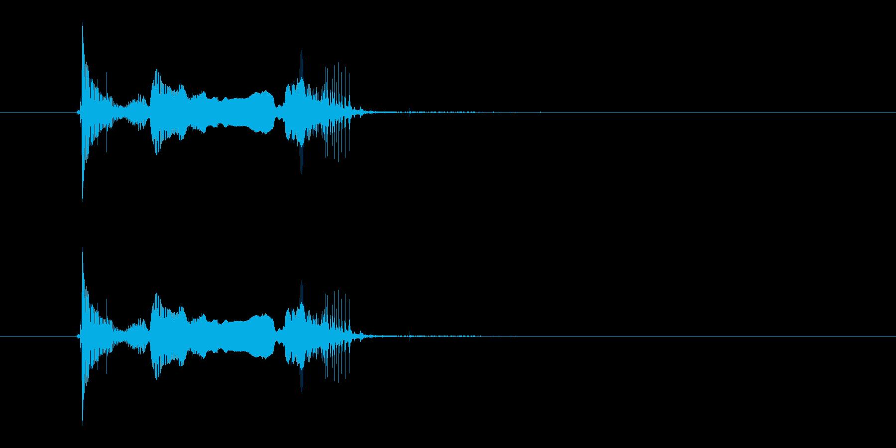 アソォーレの再生済みの波形