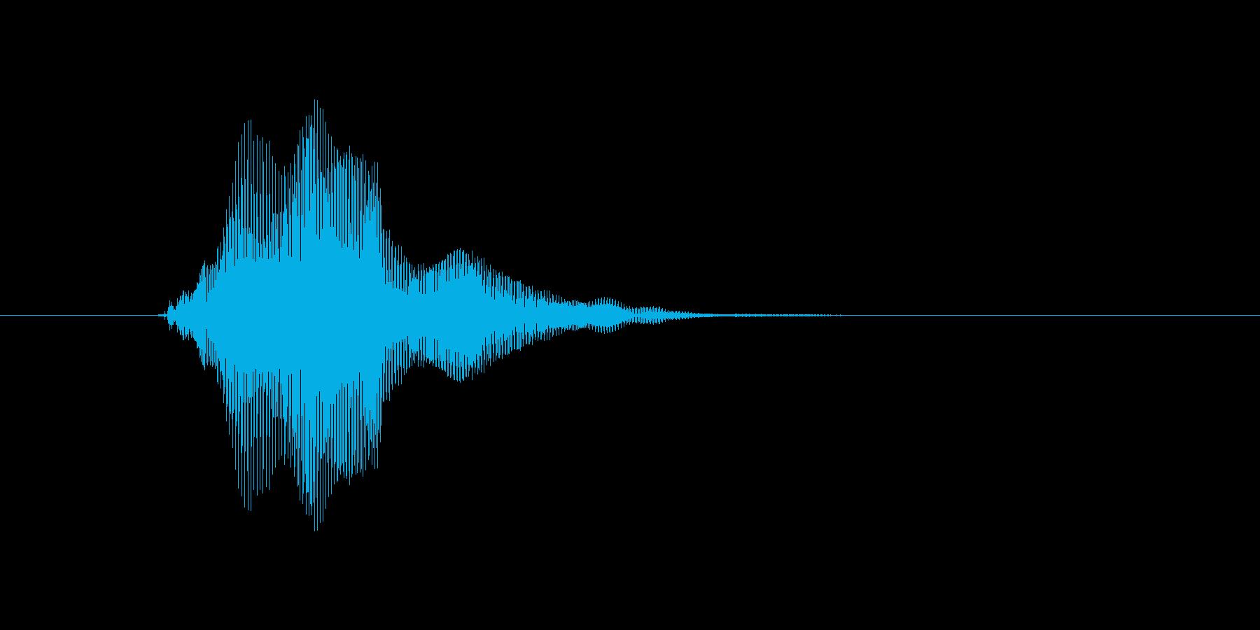 ピュンっ!の再生済みの波形