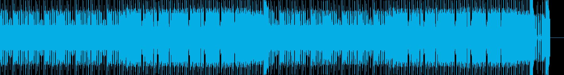 本格的ファミコン 軽快なポップスの再生済みの波形