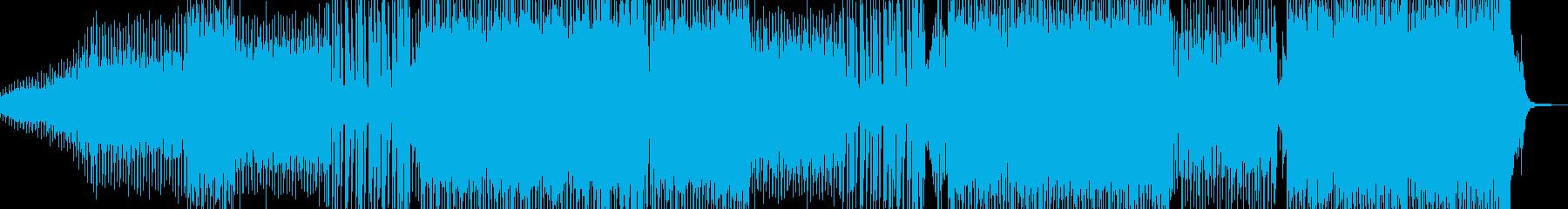 シュワッとしたシンセが爽快なEDM A2の再生済みの波形