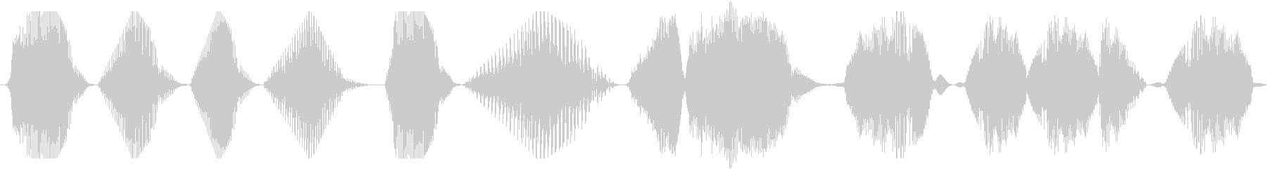 連続空間とロボット、低歪み音声、S...の未再生の波形