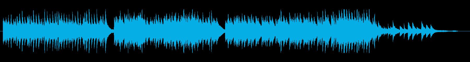 軽快で小気味よいピアノソロの再生済みの波形