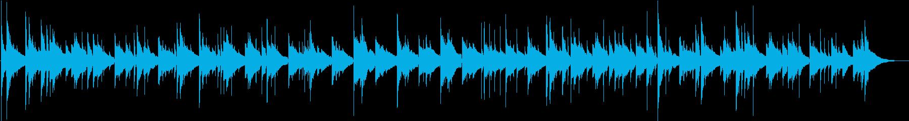 ほのぼのリラックス/クラシックギターの再生済みの波形