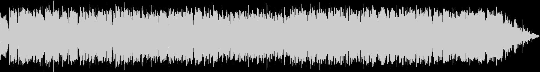 竹笛のメロディーのヒーリングミュージックの未再生の波形