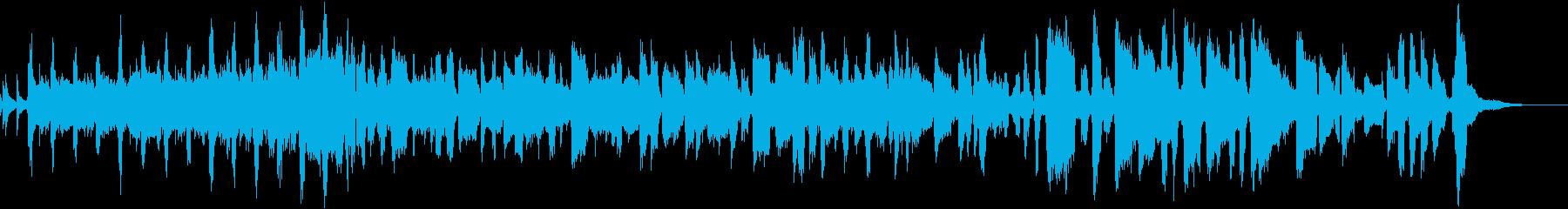 なすをテーマにした楽曲の再生済みの波形