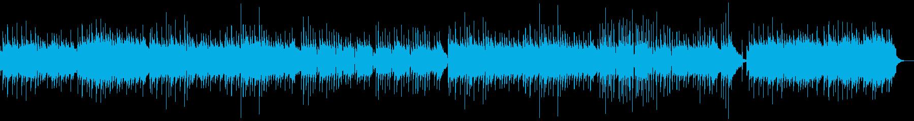 津軽三味線・ギターの生演奏癒し系バラードの再生済みの波形