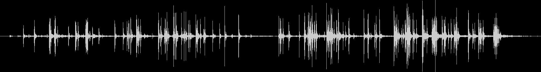 ヘビーベルクロストリップ:プルカッ...の未再生の波形