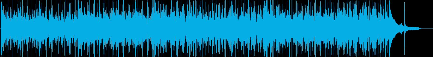 回想をイメージした軽快で切ないポップスの再生済みの波形
