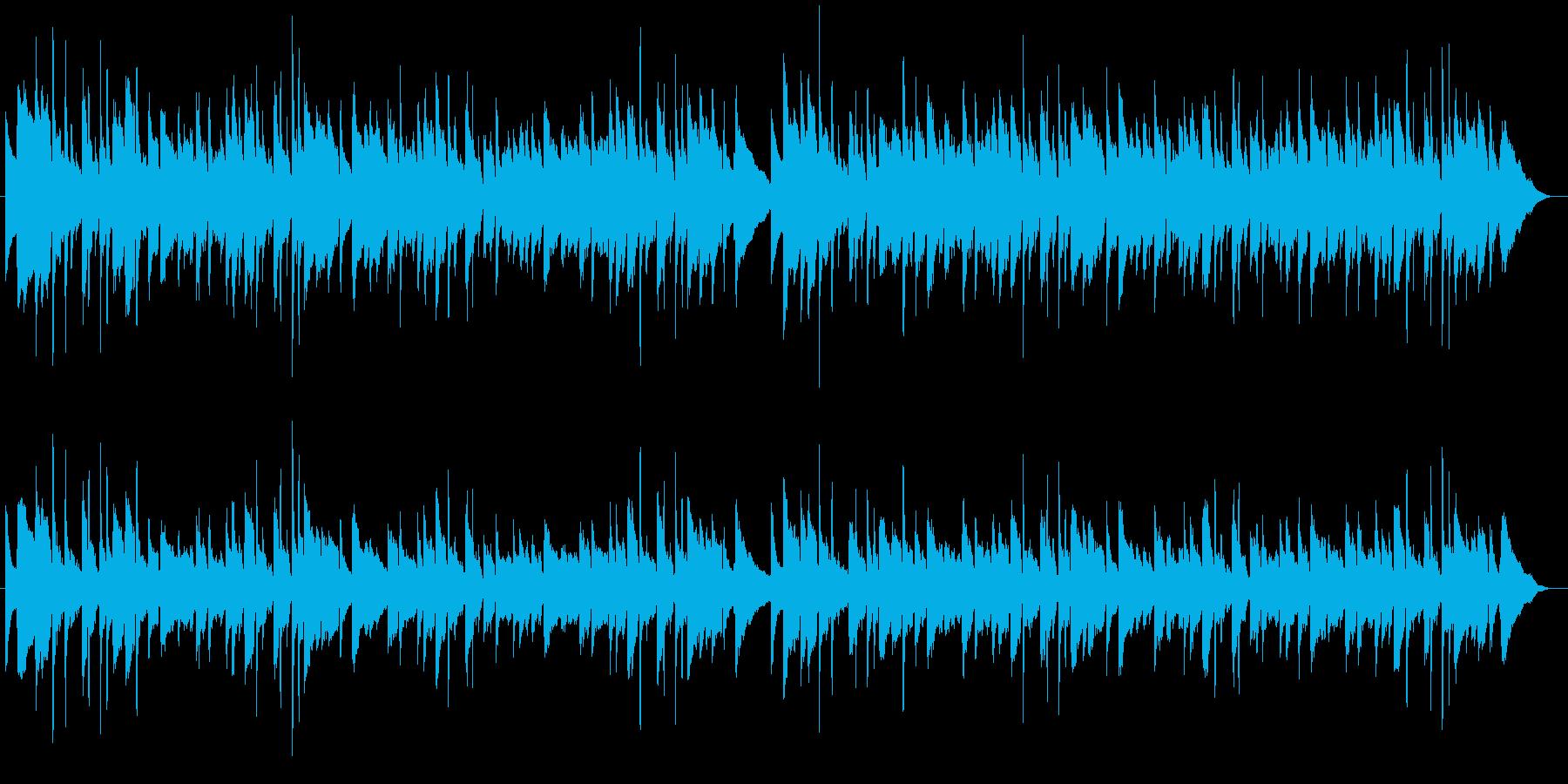 蛍の光 アコースティックギター合奏の再生済みの波形