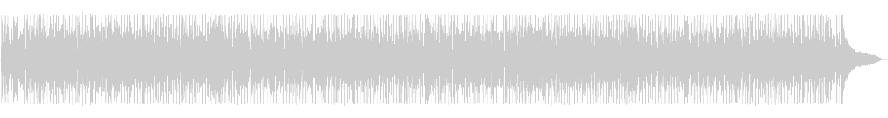 ノリノリ爽やか80年代シティダンスポップの未再生の波形