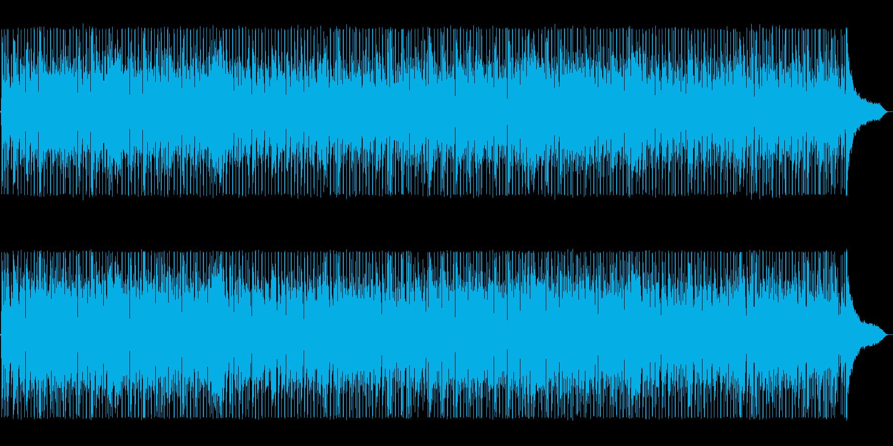 ノリノリ爽やか80年代シティダンスポップの再生済みの波形