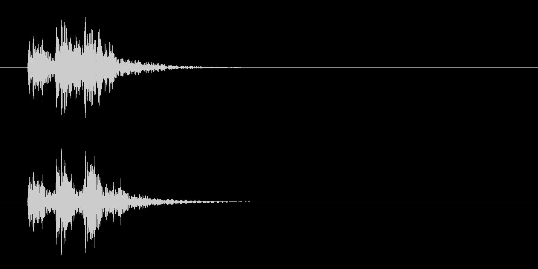 ジングル/水泡・実験(環境)の未再生の波形