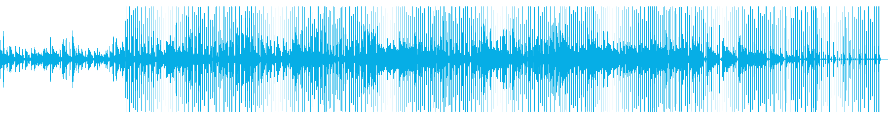 ゆったり温かみのあるギターチルアウトの再生済みの波形