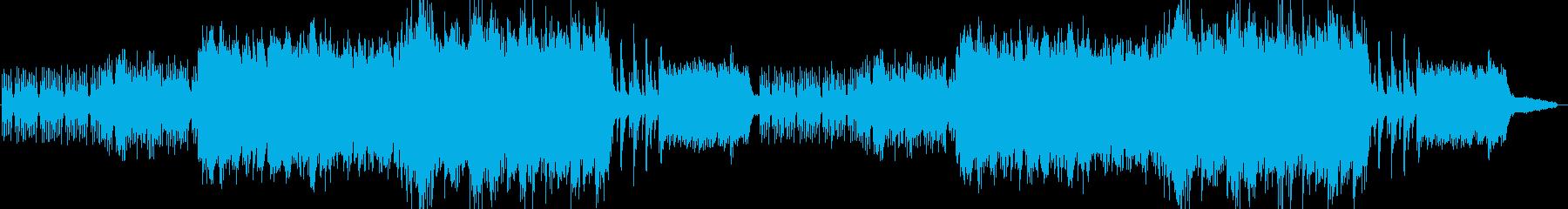悲しい、切ないピアノのバラードの再生済みの波形