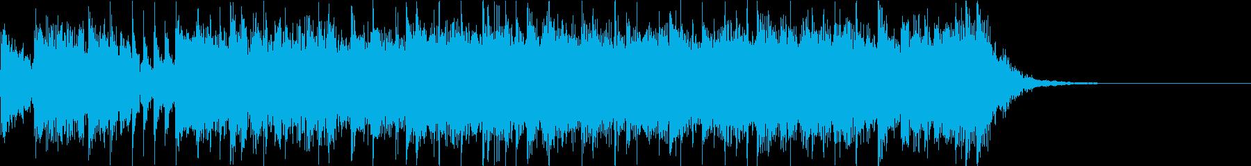 三味線/和太鼓 勢いのいい和風ロックの再生済みの波形