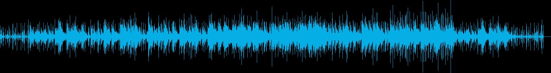 ピアノとトランペットの穏やかなバラードの再生済みの波形