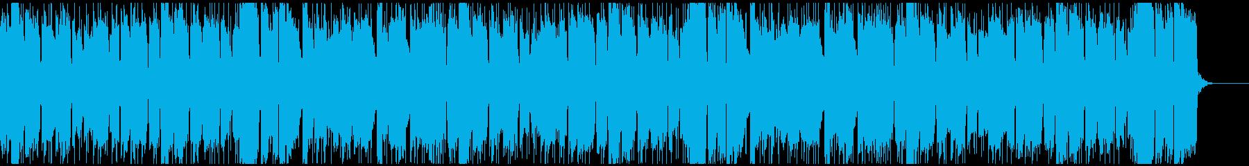 ソプラノサックスの日常的なポップスの再生済みの波形