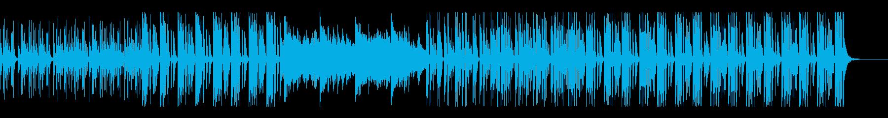 単調だけど不思議なエレクトロポップの再生済みの波形
