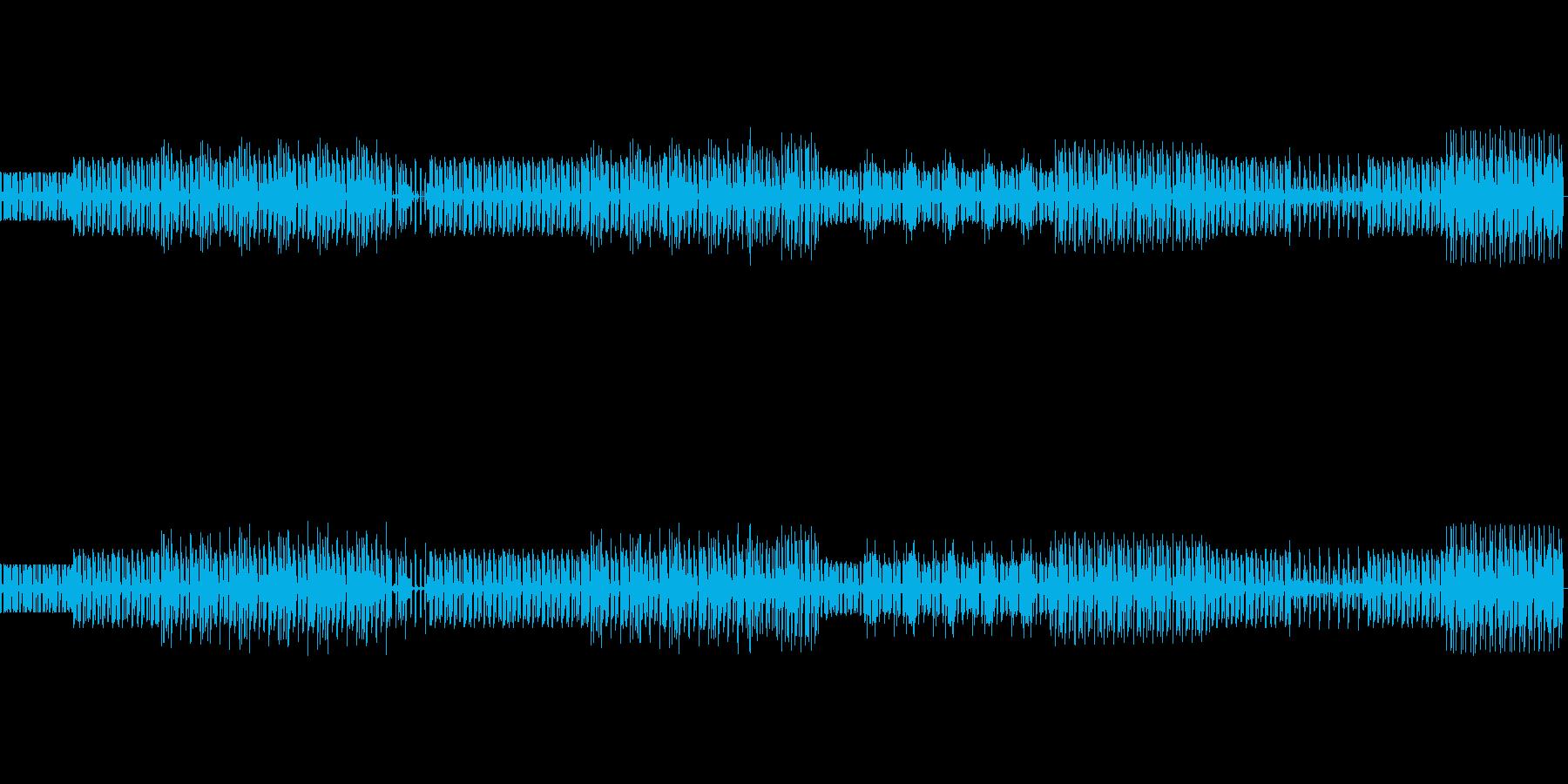 レゲトン要素のスロウなハウス インスト の再生済みの波形