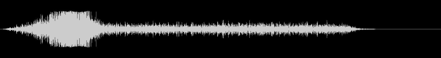 シューッという音EC07_88_3の未再生の波形