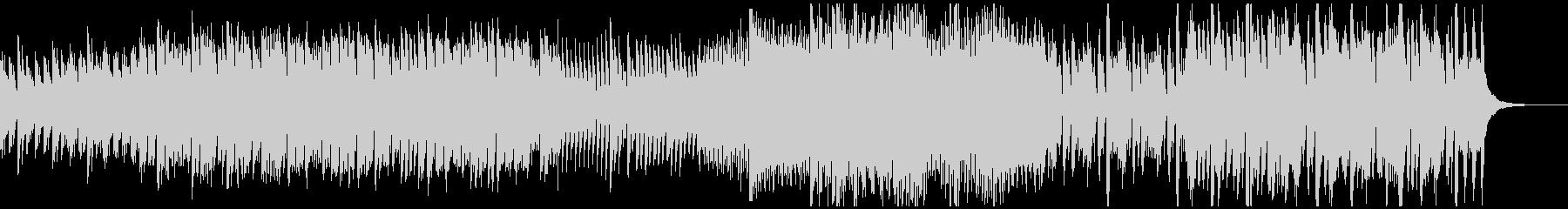 わくわく・高揚するアコースティック曲Bの未再生の波形