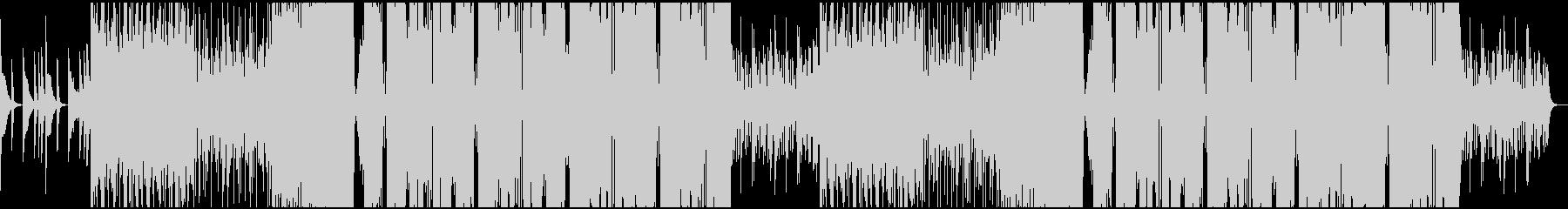 シンセ音と低音が目立つフューチャーベースの未再生の波形